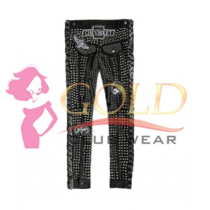 Skinny Jeans Pant With Studded
