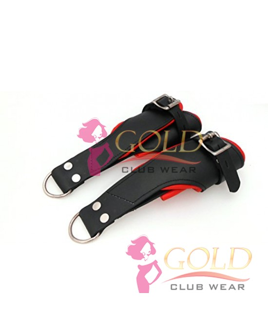 Leather Soft Padded Suspension Cuffs