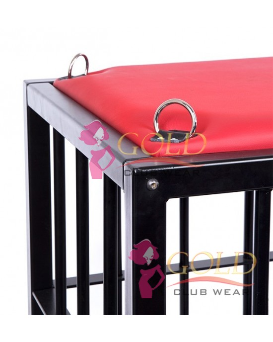 BDSM Puppy Cage Red Top