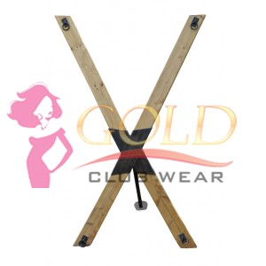 Portable St Andrews Cross Standard Model Mature Bonds of Steel BDSM Gear Dungeon Equipment