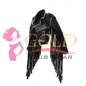 Black Real Leather Children of the Grave jacket