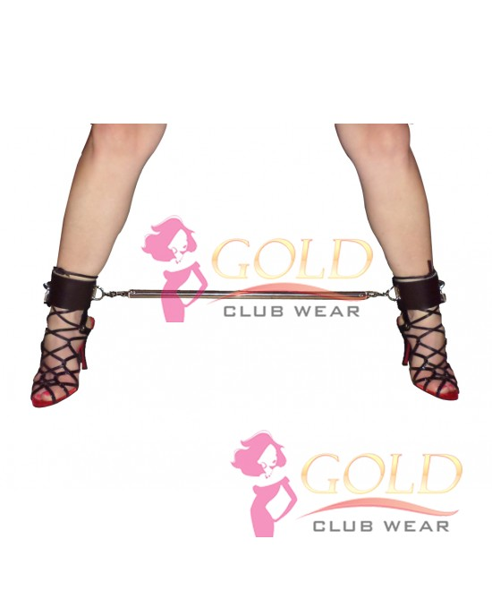 Spreader Bar With Leather Ankle Cuff