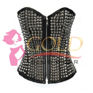 Fashion Turbo lover corset with studded