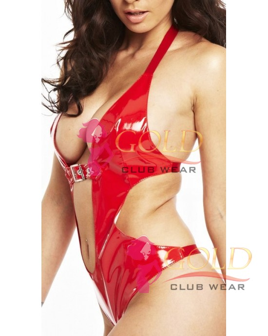 Same Style In Leather Red Teddy